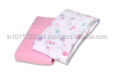 aden anais muslin swaddle blanket with custom design