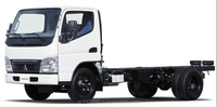 Mitsubishi CANTER 4.2 TON Diesel truck chassis 4x2 2015 NEW EXPORT SALE
