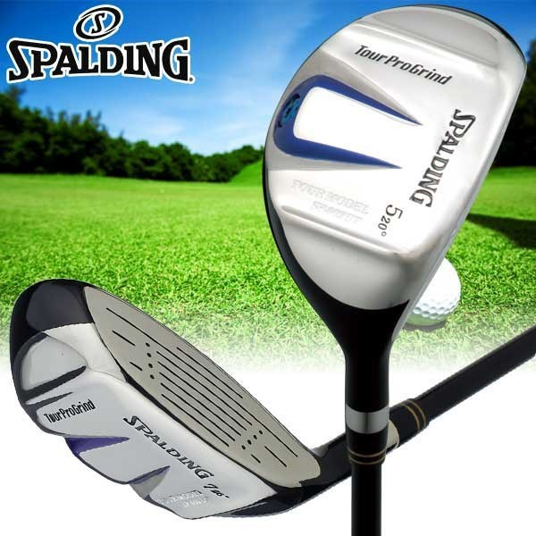Spalding limited utility SP-002 short wood hybrid golf utility club