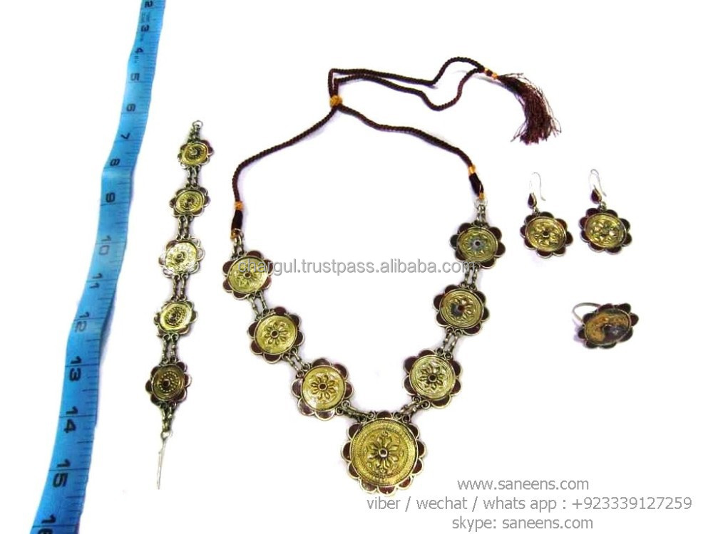 ats bellydance stage art jewelry toq tribal fusion chokers online beautiful afghanistan kuchi necklaces