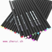 96PCS/SET- Bling rhinestone emerald pencil
