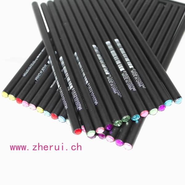 96PCS/SET- Bling rhinestone pencil with rhinestone