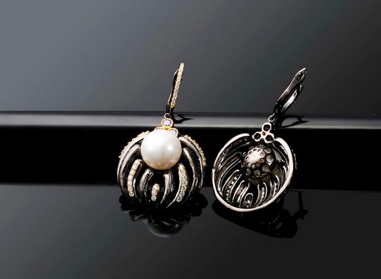 Korean earrings for women