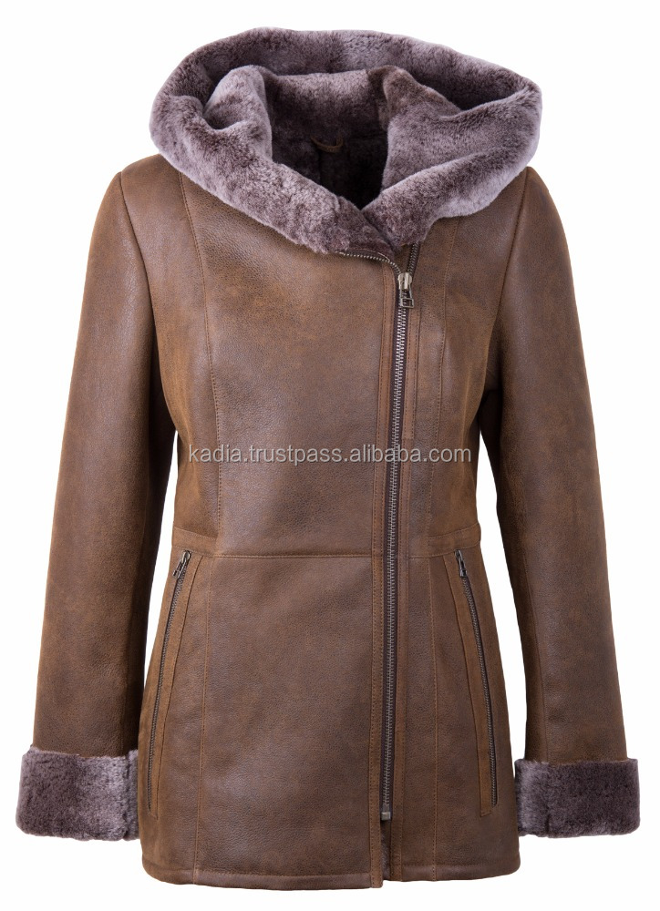 Duffle Shearling Coat