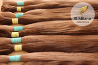High Quality 100% Natural Virgin Blond And Colored Human Hair