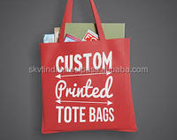 ERODE bag making factory direct selling custom shopping tote bags cotton printed bags