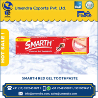 New High Grade Smarth Red Gel Toothpaste for Home Use