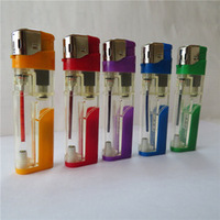 Electronic Flame Gas Lighters Cheap Cigarette Smoking Accessories