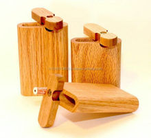 Wooden DUGOUTS Glass Smoking Pipe Pipes (Paypal Accepted)
