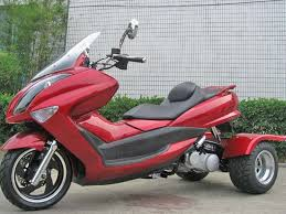 quality Trike Gas Motor Scooters 150cc Touring Style Moped