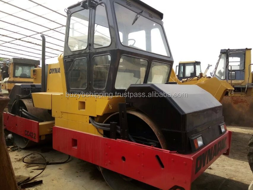 Used Dynapac CC422 Double Drum Road Roller