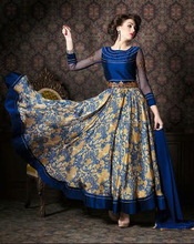 Gorgeous Party wear blue suit anarkali suit for women