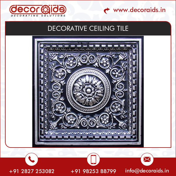 Decorative Fire Rated Termite Proof Washable Ceiling Tiles