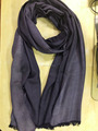 Viscose rayon Reversible Satin Pashmina Shawls Denim look