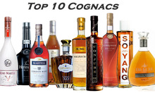 All brands of Cognac and Brandy