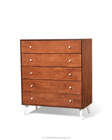 GRENZ CHEST OF 4 DRAWER-OAK