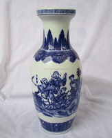Ceramic flower vase China style