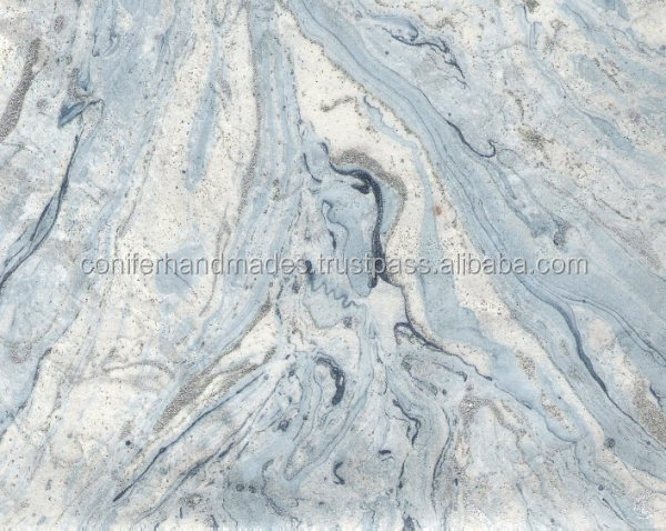 aqua color marble printed handmade papers suitable for gift wrapping or book wrappers