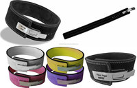 Weightlifting Power Belts with quick release Buckle