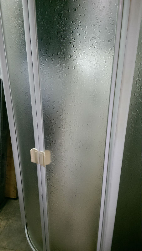 120 x 180cm Polystyrene plastic sheets for safety shower stall ...