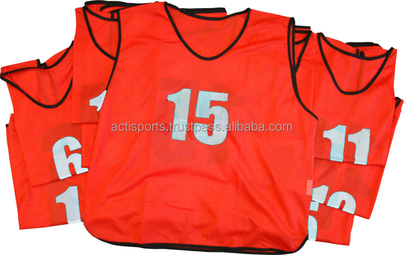 2017 Latest Design Soccer Training Bibs/ Training Pinnies