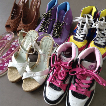 Used shoes women sandals , other used footwear and fashion accessories also available