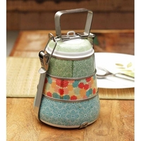 fashion design plastic tiffin lunch box