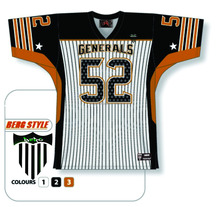 Best 2016 customized sublimation American football jerseys uniforms/At Berg