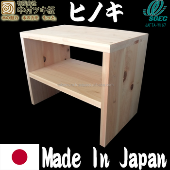 High Grade Hinoki Wood Chair Made In Japan
