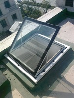 Aluminium alloy roof skylight