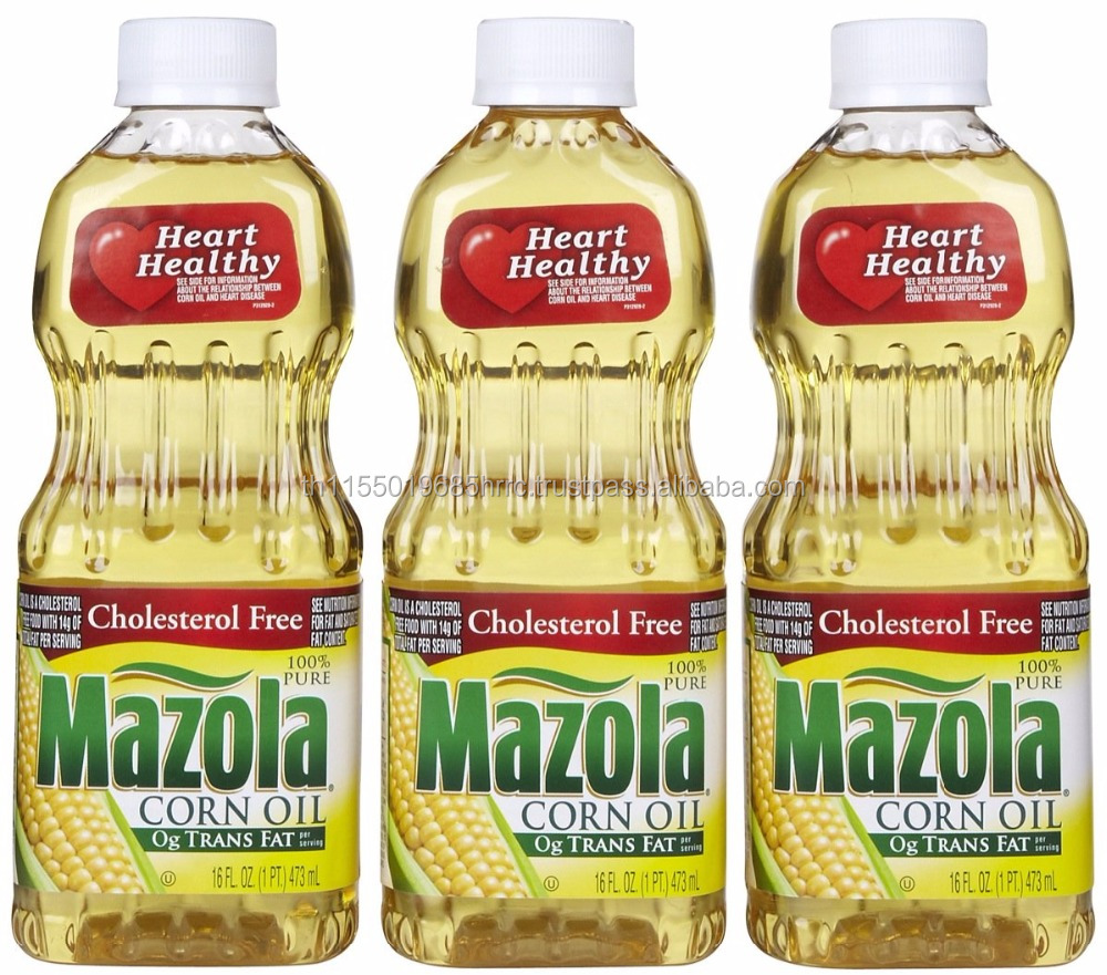 Refined corn oil for cooking and frying NON - GMO