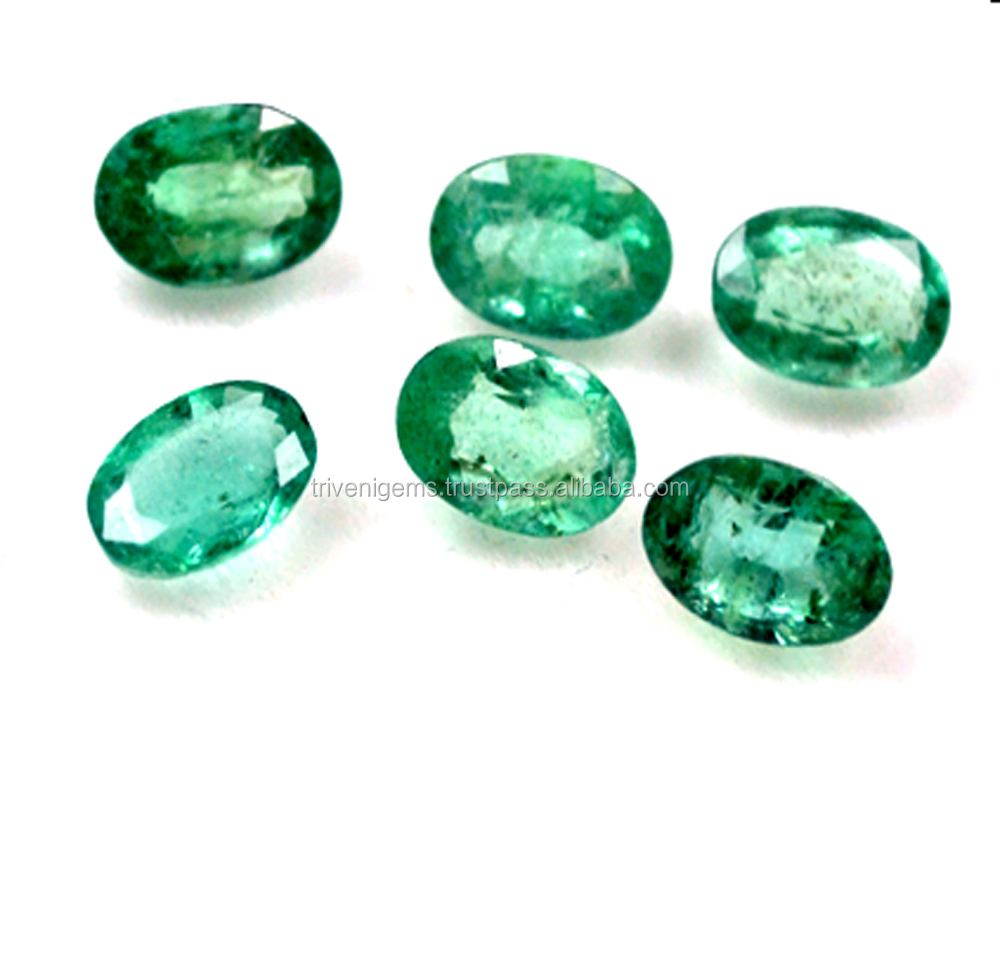 2.85 ct Emerald Faceted Cut Green Beryl Natural Untreated loose , loose gemstone
