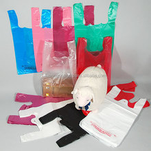 Most common t shirt plastic bag used for glocery/shopping/daily market/ Plastic bag