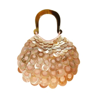 High quality best selling Pink/Amber Teardrop Handbag from vietnam