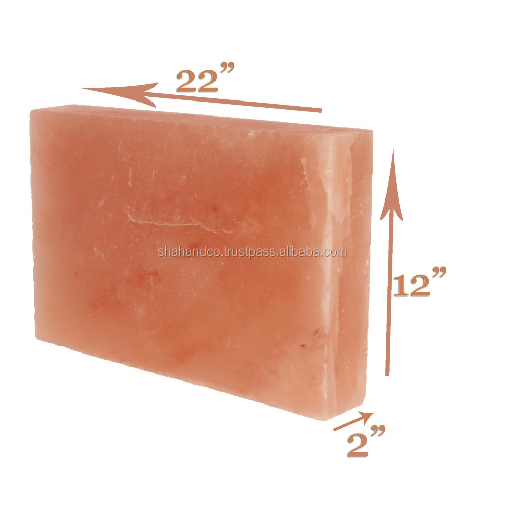 22x12x2 inch Himalayan Salt Block Plate Slab for BBQ Cooking Searing Serving