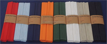 stock lot / excess inventory / close out of cotton rib table runner in solid color for liquidation in India