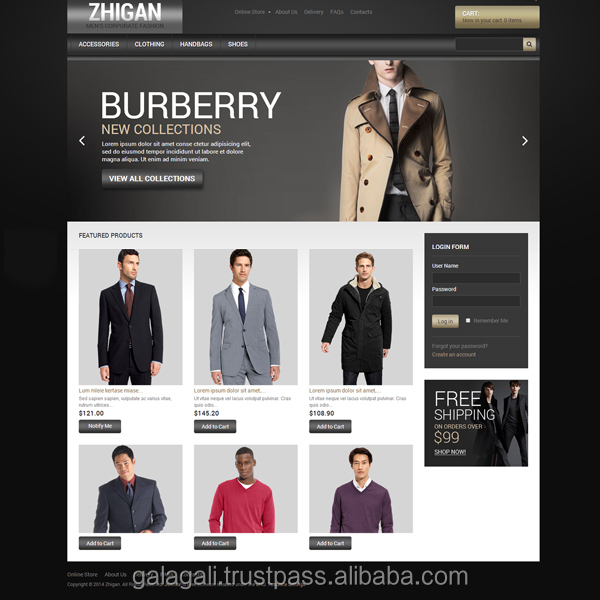 Online Selling Magento Websites for Fashion and Lifestyle - Website Design and Website Development