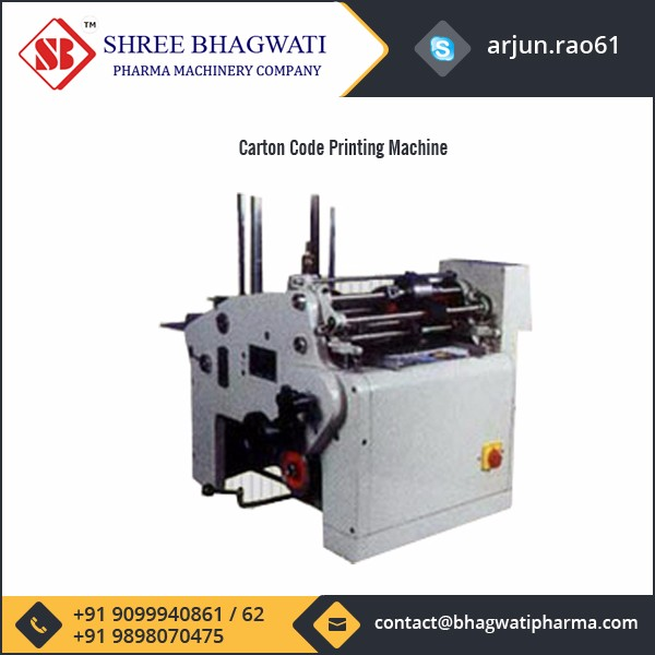 Widely Used Carton Code Printing Machine for Wholesale Buyer