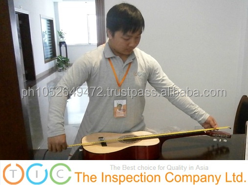 Pre-Shipment Inspection for Guitar Instrument in China