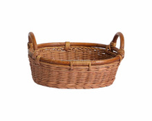 Natural promotional gift wicker basket for wedding