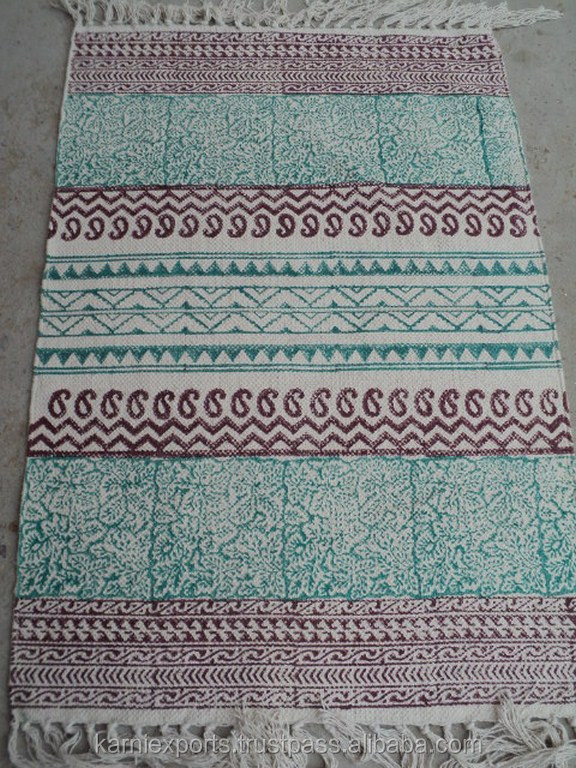 2016 Latest Design Home Textile Carpet & Rugs / Floral Printed Hotel Rugs