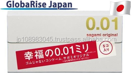 Japanese Male Contraceptive device Sagami 001 condom 0.01 for wholesale