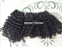 wefted Vietnamese/cambodian curly Hair with competitive price