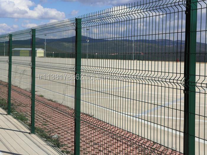 HDG + ELECTROSTATIC POWDER PAINTED PANEL FENCE / READY TO INSTALL SET