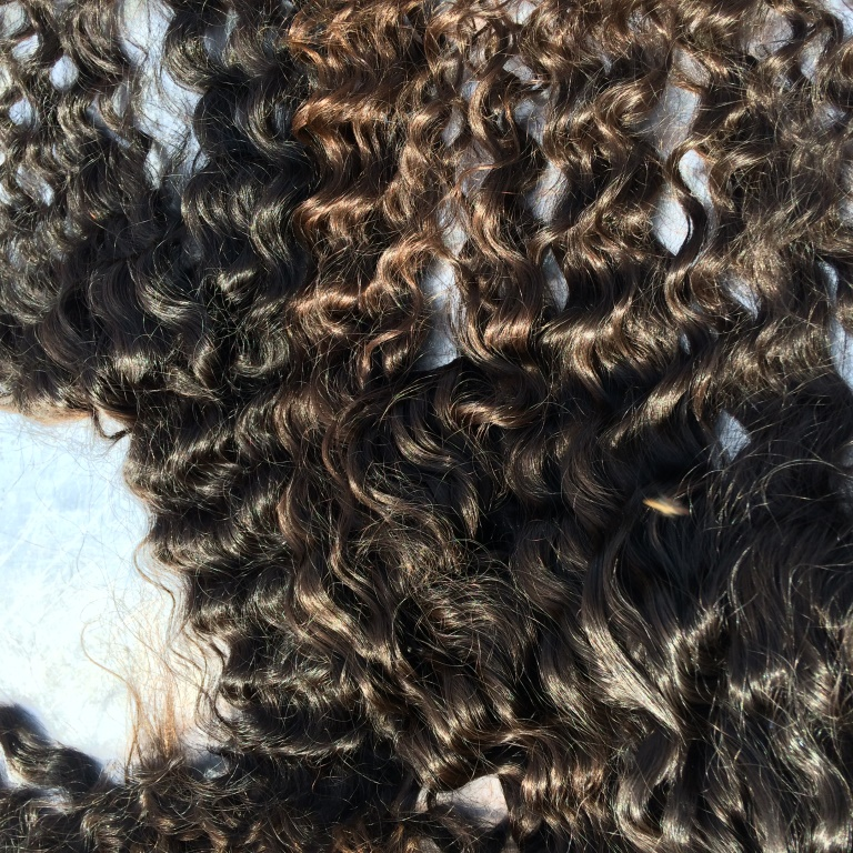 Alibaba India wholesale top quality 100% virgin indian deep curly hair natural color