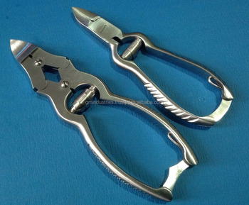 Nail Cutters double action Nail Cutter Best Selling manicure Instruments Pedicure Tools 2418