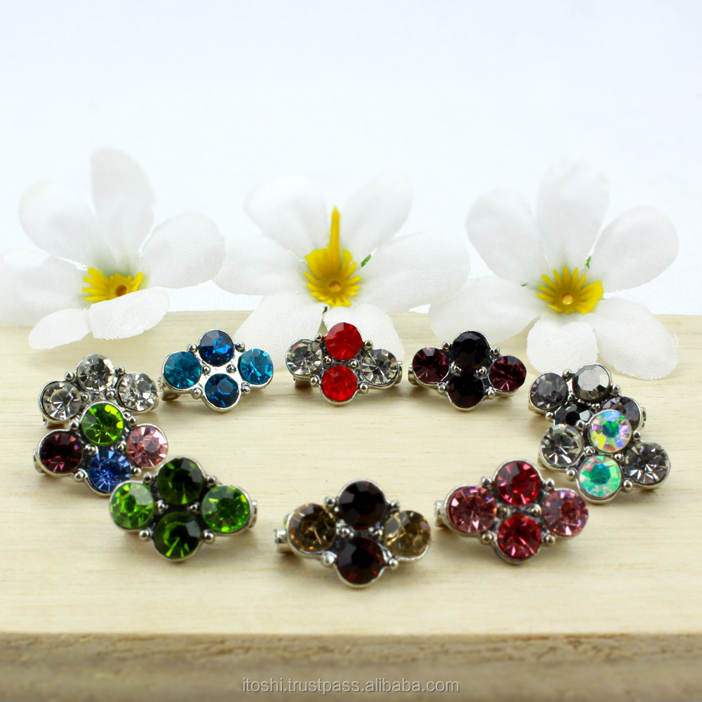 High quality rhinestones brooch muslim scarf, tudung brooch kerongsang design wholesale