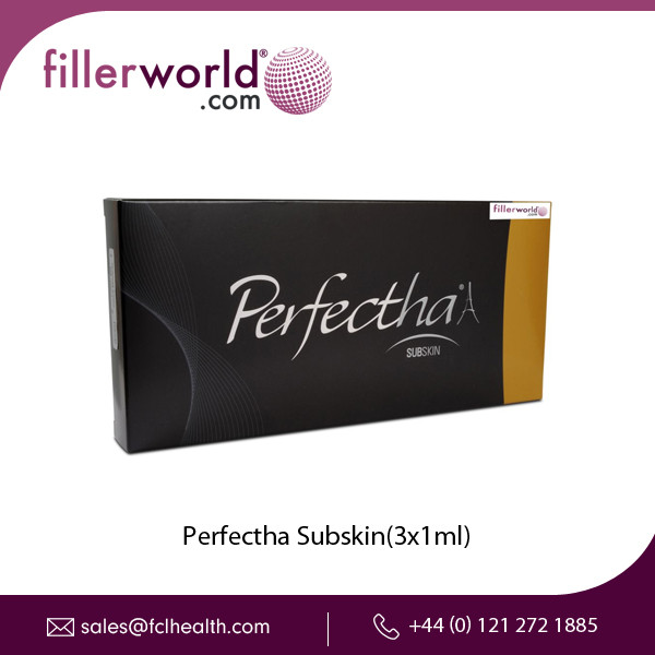 Perfectha Subskin (3x1ml) for Increasing Volume of Jawline and Cheeks.