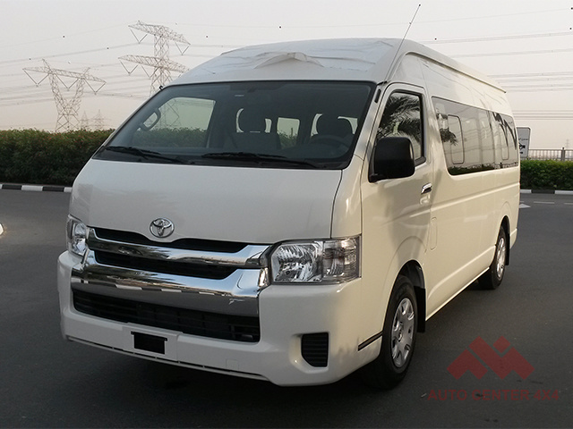 2016 TOYOTA HIACE 2.7 PETROL HIGH ROOF - EXPORT READY