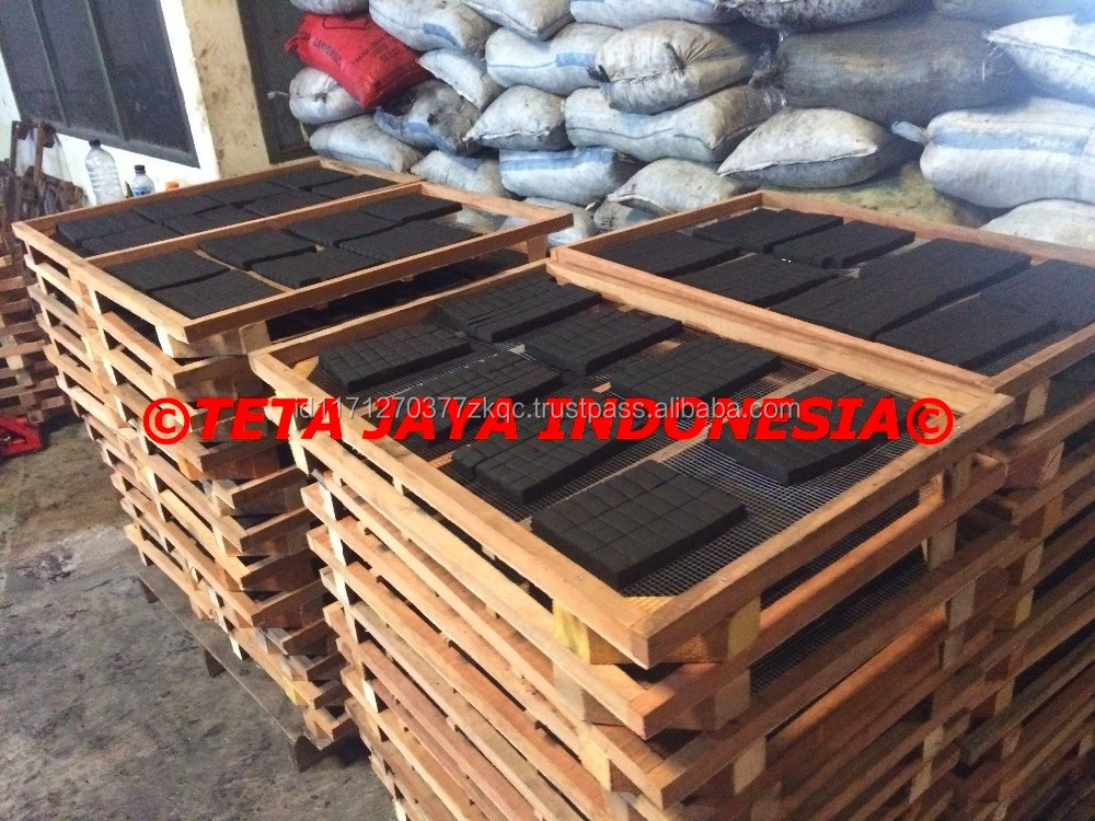 Low Ash 100% Coconut Shell Charcoal For Hookah / Shisha